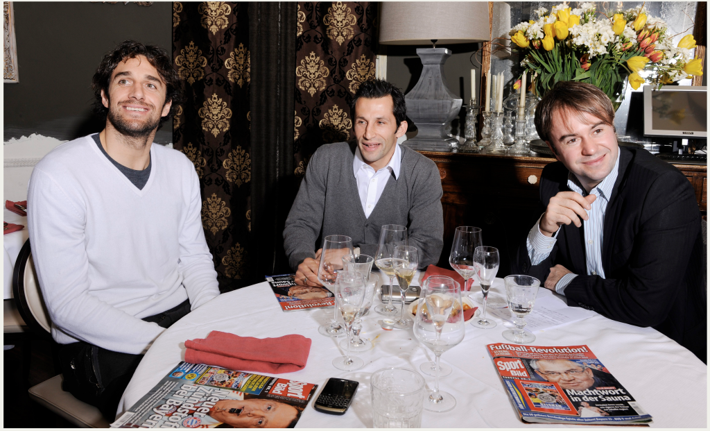 Luca, Brazzo und ich in Turin