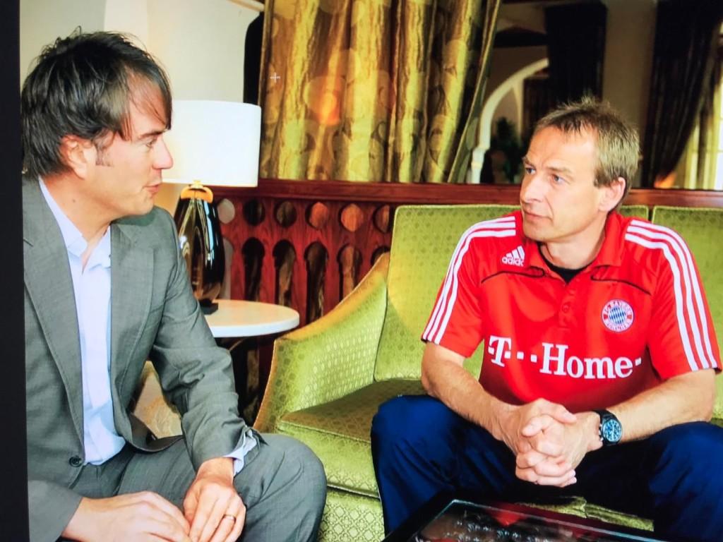 Jürgen Klinsmann reagierte stets sensibel, aber auch professionell bei Enthüllungen